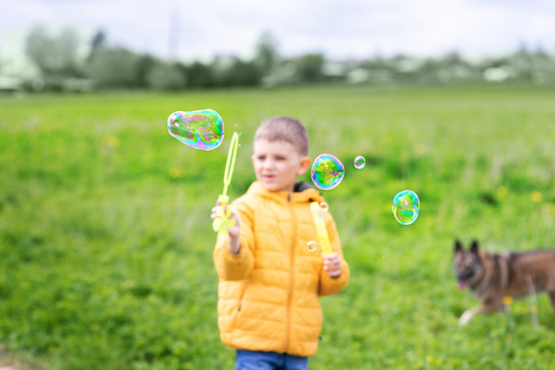 Mindfullness-Bubbles